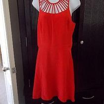 Parker Large Red Dress Nwt Photo