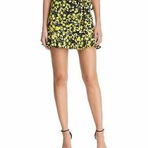 Parker Lifestyle Womens Lemon Printed Mini Skirt Yellow 8 Photo