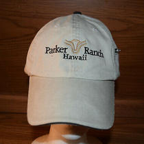 Parker Ranch Kamuela Hawaii Hat Cap Tan Strapback Adult One Size Fits All Photo