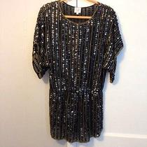 Parker Sequin Blouse Photo