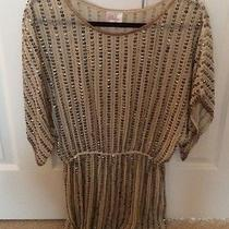 Parker Sequin Cinch Waste Tunic Photo