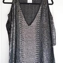 Parker Sequin Cut Out Top Photo