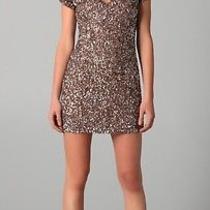 Parker Sequin v Neck Dress Photo