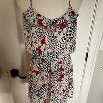 Parker Silk Dress Sz Medium Photo