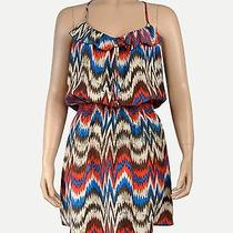 Parker Silk Tribal Dress Size M Photo