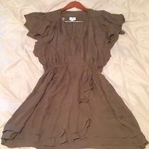 Parker Silk Wrap Dress Medium M  Photo