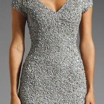 Parker Silver Sequin Dress  Photo