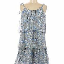 Parker Women Blue Casual Dress M Photo