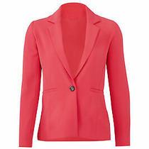 Parker Women's Blazer Pink Size Medium M One Button Notch Collar 354- 321 Photo