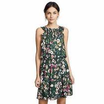 Parker Women's Milly Silk Blend Cacti Daisy Mini Dress Size Small Photo