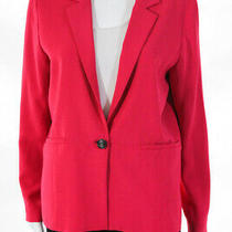 Parker Womens Pink Bo Blazer Jacket Coat Size Medium 11209885 Photo