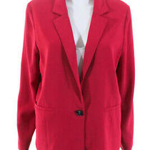 Parker Womens Pink Bo Blazer Size Large 11140411 Photo