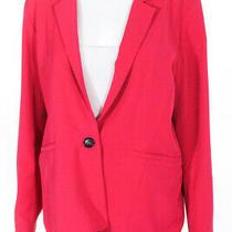Parker Womens Pink Bo Blazer Size Large 11209909 Photo