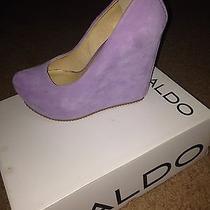 Pastel Purple Wedge  Photo
