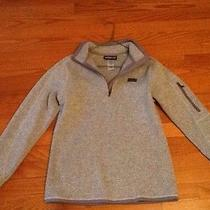 Patagonia 1/4 Better Zip Sweater Gray Small Photo
