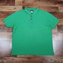 Patagonia 1/4 Buttons Organic Cotton Men Polo Shirt Size L Photo