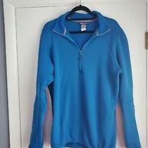 Patagonia 1/4 Zip Polartec Fleece Blue Pullover Sweater Mens Xl Photo