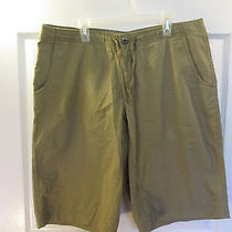 Patagonia 100% Organic Cotton Hiking Utility Shorts Size 32 Flat Front Photo