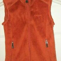 Patagonia 25125 Women's R2 Rust Red Full Zip Polartec Fleece Vest Xs Photo