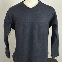 Patagonia Acrylic/wool Pullover Sweater Gray Mens Medium Photo