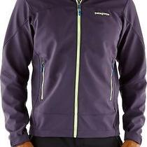 Patagonia Adze Hoodie Jacket Men's Size S Graphite Navy (Purple) Photo