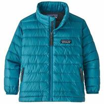 Patagonia Baby Down Sweater Jacket 2t - Balkan Blue Forge Grey Bnfg 60520 Fa19 Photo