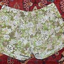 Patagonia Baggies Green Tropical Floral Short Baggie Shorts Size L Photo