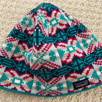 Patagonia Beanie Winter Hat Youth Kids Size Medium M Euc Photo