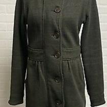 Patagonia Better Sweater Coat Sz M Heather Brown Long Cardigan Button Up Photo
