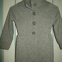 Patagonia Better Sweater Pea Coat in Gray Size Girl's Xs Photo