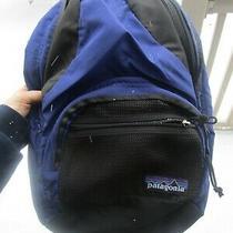 Patagonia Blue Black Backpack  Photo