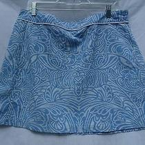 Patagonia Blue Wrap Around Nylon Skirt 12 Photo