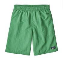 Patagonia Boys Baggies Swim Shorts/trunks Green L Size 12 but Fit 8-10 Photo