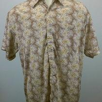 Patagonia Button Up Men's Crazy Shirt 100% Polyester Xl Beautiful Shirt Euc Photo