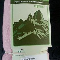 Patagonia Capilene 3 - Children's Large (12) Base Layer Top Long Underwear Pink Photo
