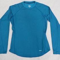 Patagonia Capilene Performance Base Layer Shirt Women Xl Blue Photo