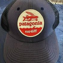 Patagonia Cardiff Hat Patch Trucker Hat Spring 2010 Rare Photo