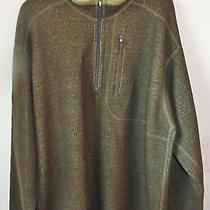 Patagonia Classic Pullover Pinstripped Dark Green Soft  Sweater Men's Xl Photo