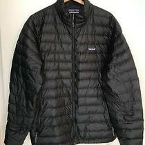 Patagonia Down Sweater Jacket Men's Xl Black Pre-Owned Photo