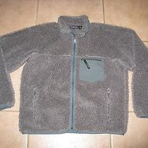 Patagonia Fleece Retro Pile Shag Jacket Size Large Made in Usa Photo