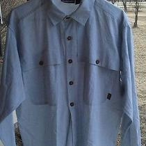 Patagonia Fly Fishing Shirt Mens Medium  Photo