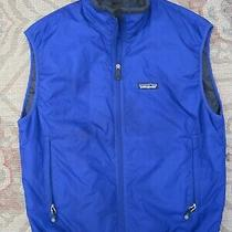 Patagonia Full-Zip Insulated Vest / Us Men Size M / Dark Blue / Pre-Owned  Photo