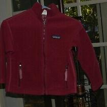 Patagonia - Girl's Outdoor Sweater-                Size Xs- 5-6 Photo