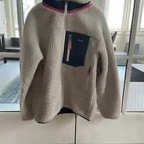 Patagonia Girls Retro Fleece Jacket Size Large Photo