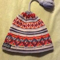Patagonia Girls Wool/ Acrylic Winter Hat Sz Xs/s / Photo