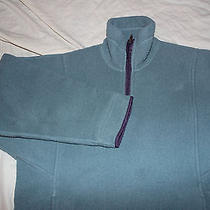 Patagonia Green Fleece Half Zip Womens Sz Xs Made in Usa Photo