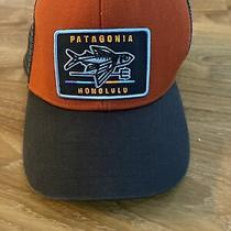 Patagonia Hat Cap Boys  Trucker Honolulu Hawaii Flying Fish Photo