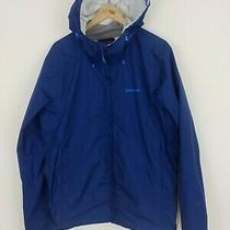 Patagonia L Blue H2no Torrent Shell Mens Waterproof Rain Jacket Large Free Ship  Photo