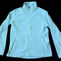 Patagonia Light Blue Full Zip Fleece Jacket Womens Size L  Photo