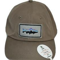 Patagonia Low Crown Fitz Roy Trout Patch Trad Cap Osfa Burnie Brown Adjustable  Photo